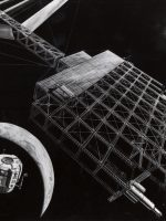 An early conceptual drawing of NASA Space Solar Power