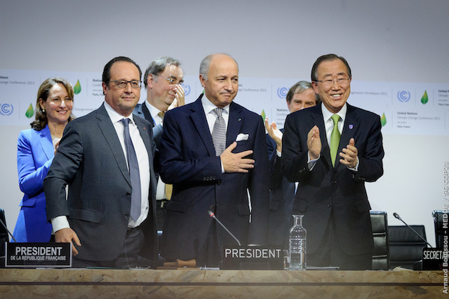 The Paris Agreement is reached. Only the beginning