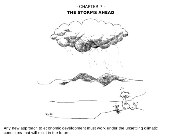 Reinventing Prosperity : The Storms Ahead