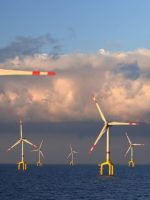 Offshore wind project example of German