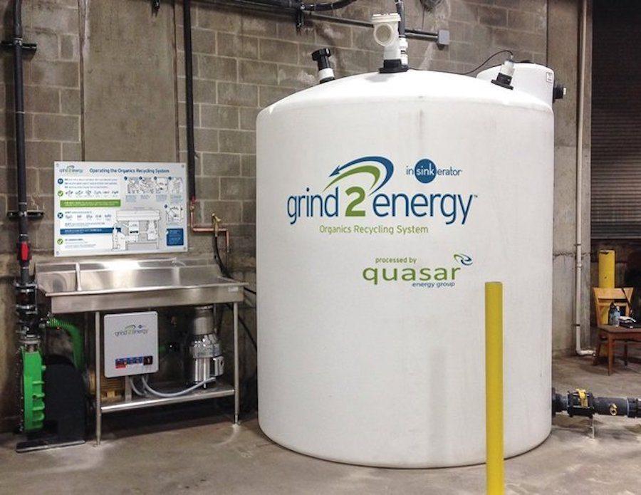 Reducing food waste, generating energy