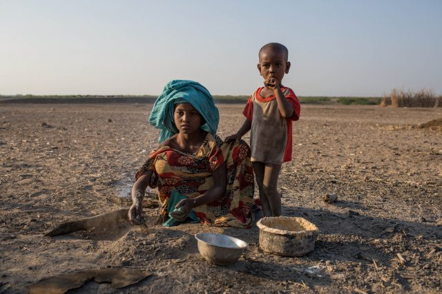 Devastating drought in East Africa