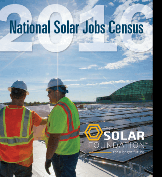 Solar Foundation National Solar Jobs Census Report