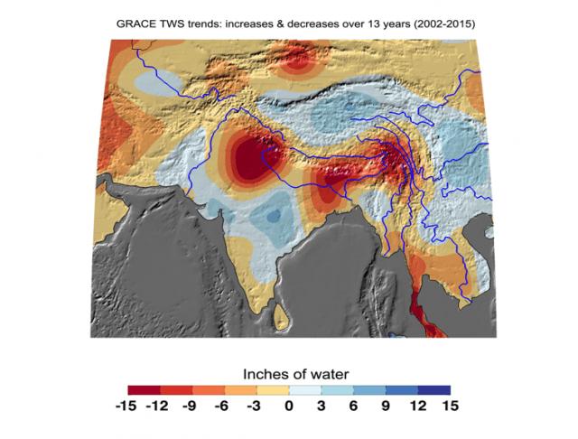 India drought hotspots