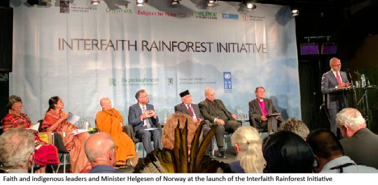 Interfaith Rainforest Initiative gets underway in Oslo