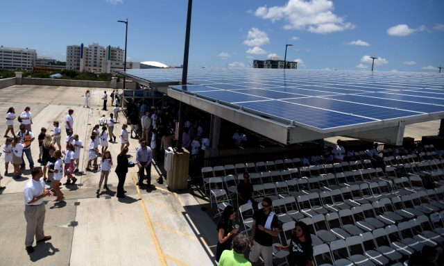 Solar panels for the Sunshine State