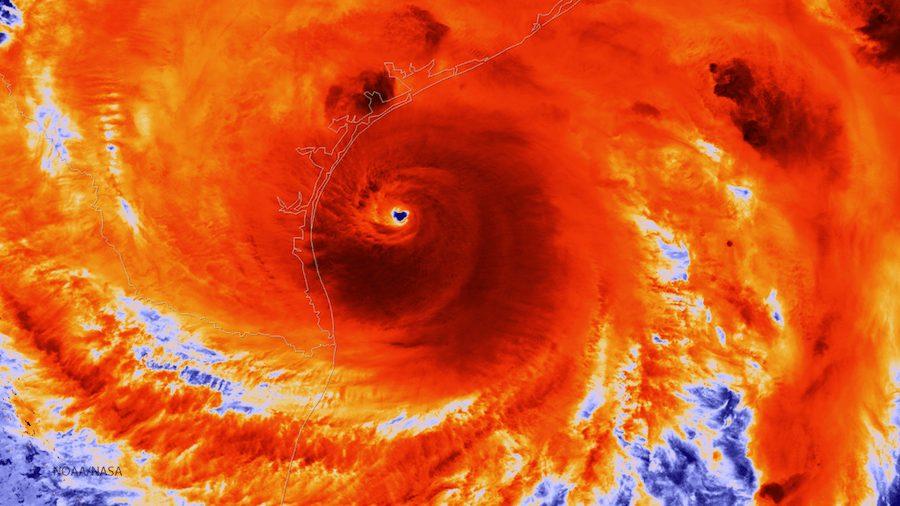 Hurricane Harvey bears down on Texas