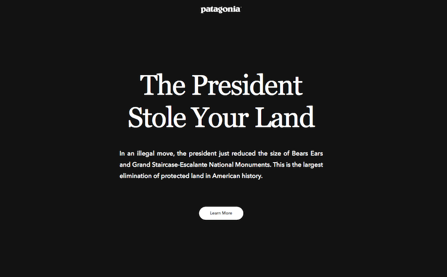 President Trump enacts the largest reversal of protected land in history.