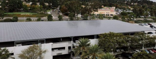 A solar roof that feeds smart batteries for storage