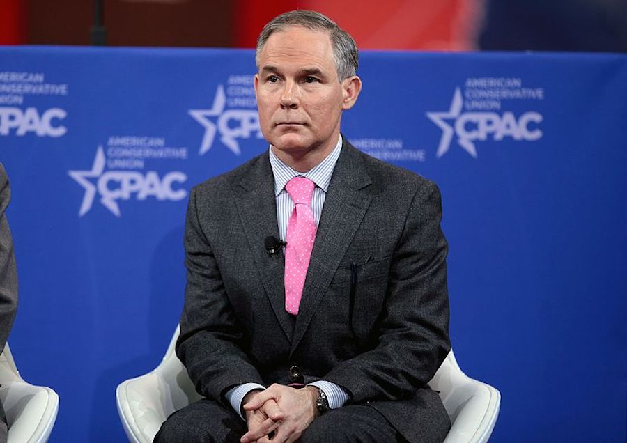 Drain the Swamp. Pruitt Must Go