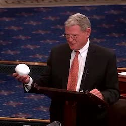 "New EPA chief has ties to James ""snowball"" Inhofe"