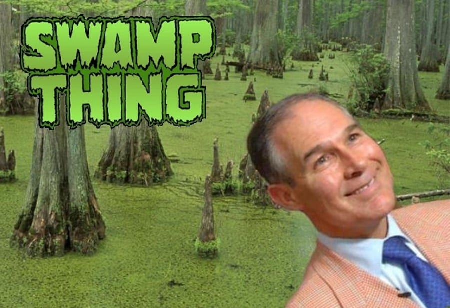 Scott Pruitt resigns - Good Riddance! Drain the Swamp!