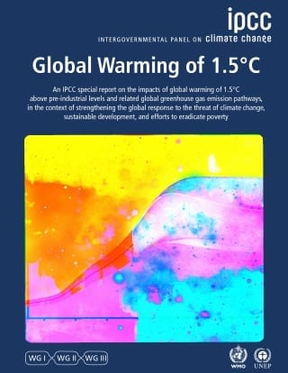 IPCC special report on 1.5C