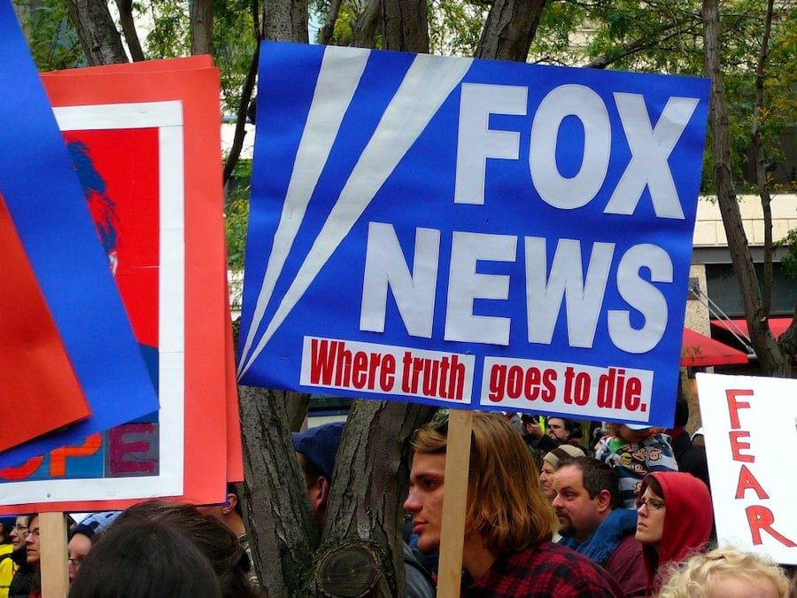Growing pressure on advertisers to disavow Fox News