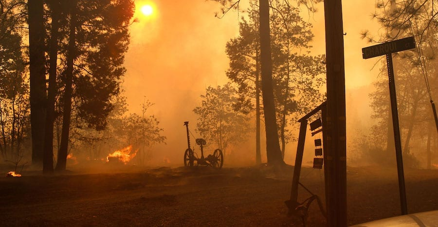 The 2018 Camp Fire in Northern California: another record-breaker and evidence of the impact of climate change on wildfire