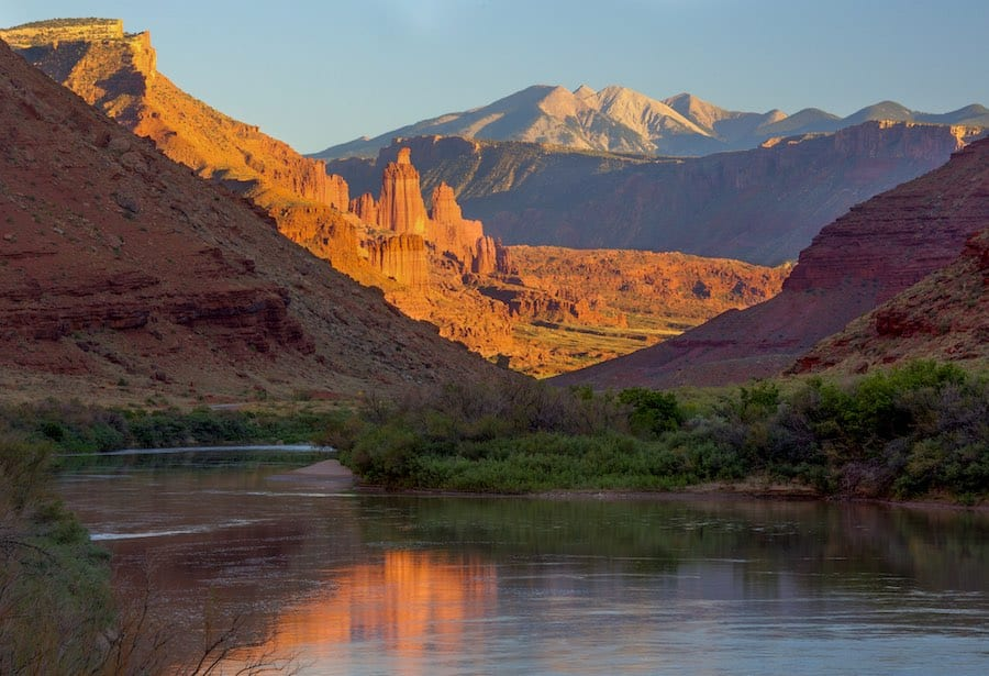 The Colorado River is a crucial source of drinking water for at least 30 million people