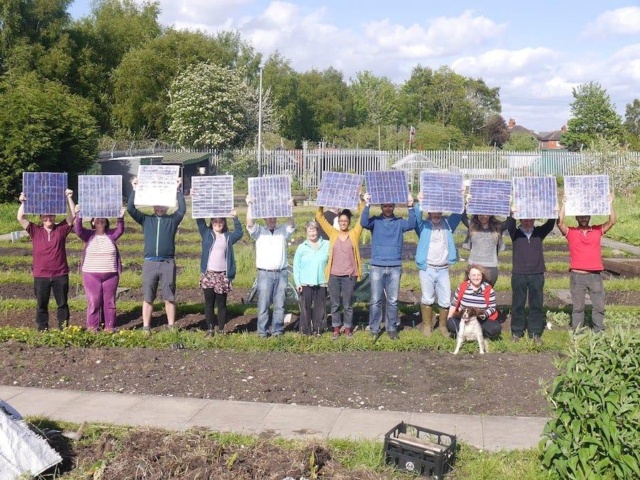 DIY solar panels make communities stronger