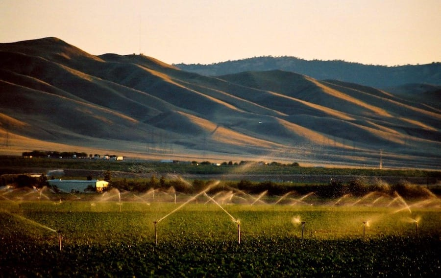 Why we need more transparency in fracking operations. California's Central Valley irrigated with produced water.
